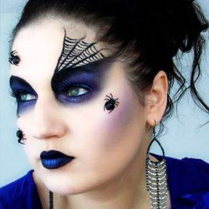 maquillaje-de-araña-mujer-4