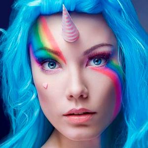 maquillaje-de-unicornio-mujer-1