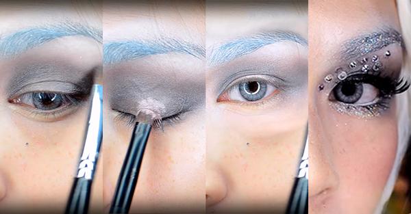 maquillaje de unicornio paso 3